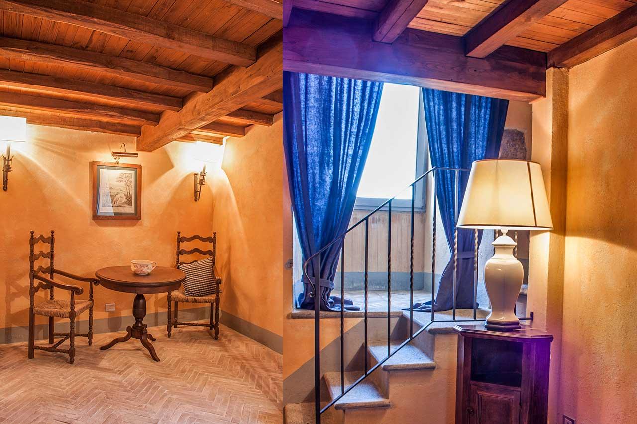 Le camere del castello costaguti roccalvecce viterbo for Planimetrie della camera a castello